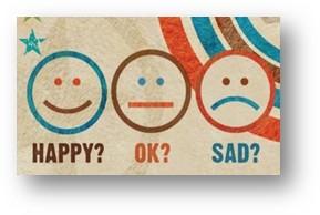 Happy? Ok? Sad?